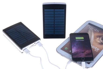 Power bank solar de 7200 mAh por 19,90 €