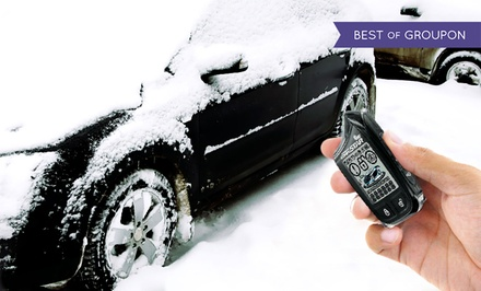 Remote or Smart-Phone Car Starter with Installation at Perfectionist Auto Sound & Security (Up to 52% Off)