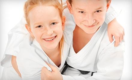 Six Weeks of Beginner Summer Training Package or 10 Martial-Arts Classes at Moo Sa Black Belt Academy (Up to 64% Off)