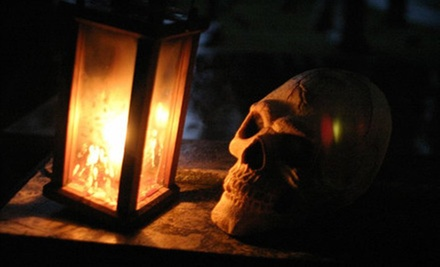 $10 for a 90-Minute Cemetery Tour for Two from Candlelight Cemetery Tours (Up to $20 Value)