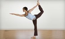 10 or 20 Yoga Classes, or a Four-Week Beginner's Workshop and 3 Yoga Classes at Yoga That (Up to 74% Off)