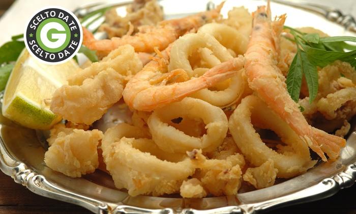 Trattoria Da Mario - Trattoria da Mario: Menu di pesce con 1 kg di fritto misto e vino a due passi dal Lago d'Iseo a 29 €