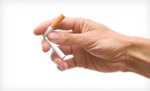 Two or Four Stop-Smoking Laser Treatments at Apex Health Centers (Up to 52% Off)
