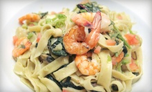Italian Dinner at Filomena's Pizzeria &amp; Ristorante (Up to 53% Off). Two Options Available.