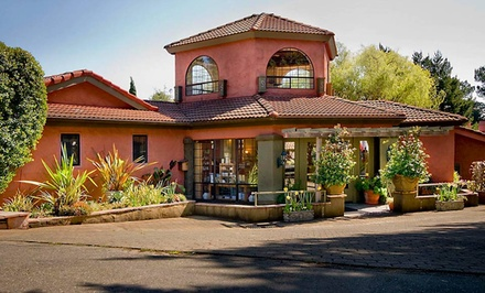 Groupon Deal: 1-, 2-, or 3-Night Stay in a Deluxe Villa Room for Two with Wine at Sonoma Coast Villa & Spa in Bodega Bay, CA