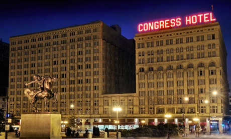 Stay at The Congress Plaza Hotel in Downtown Chicago. Dates into September Available.