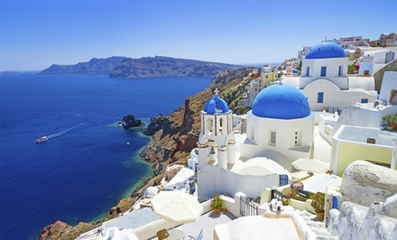 ✈ 10-Day Greece Vacation with Airfare from Gate 1 Travel. Price per Person Based on Double Occupancy.