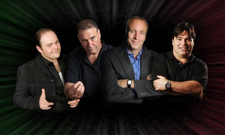 Italian Bad Boyz of Comedy at Kodak Center for the Performing Arts on Saturday, October 18 (Up to 43% Off)