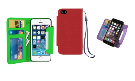 Acellories Wallet with Removable Case for iPhone 5, 6, or 6 Plus from $9.99–$11.99