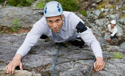 Half-Day Beginner Outdoor Rock-Climbing Lesson for One or Two from Rock-N-Row (Up to 60% Off)