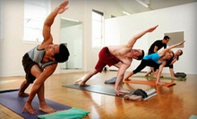 10 or 20 Classes at Namaste Pacific Yoga (Up to 71% Off)