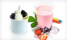 One or Five Visits for Frozen Yogurt and Bubble Tea at Matcha Frozen Yogurt (Half Off)