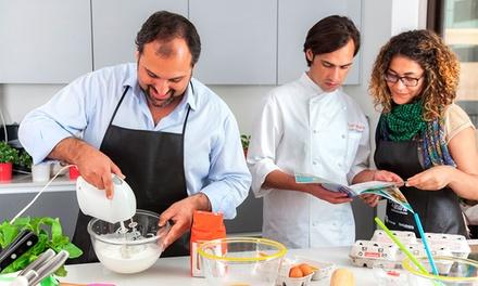 TeleCulinária — Sete Rios: workshop de culinária para 1, 2, 5 ou 12 pessoas desde 29€