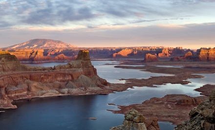 groupon daily deal - 1-, 2-, or 3-Night Stay for Two in Deluxe King or Two-Queen Room with Resort Credit at Ticaboo Resort in Lake Powell, UT