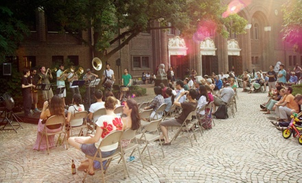 $5 for a Penn Museum Summer Nights Music Series Concert for Two on June 19, June 26, July 3, or July 10 ($10 Value)