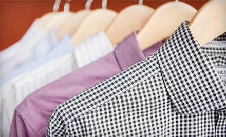 $20 for $40 Worth of Dry-Cleaning Services or Wedding-Dress Preservation at Hallmark Cleaners