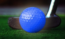 $12 for Four Rounds of Glow-in-the-Dark Miniature Golf at Laser Legend ($24 Value)