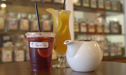 $13 for Two Groupons, Each Good for $10 Worth of Tea and Baked Goods at Tea and Tea ($20 Total Value)