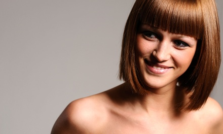 Haircut Package with Optional Color or Highlights from Kathy Klein at Allure Salon Professionals (Up to 57% Off)