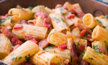 $15 for $30 Worth of Italian Food for Dinner at Tutto Pasta Trattoria