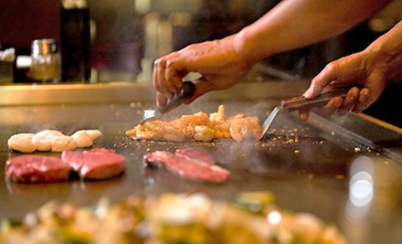 $20 for $40 Worth of Japanese Hibachi, Steak, and Sushi at Chef Honda Restaurant