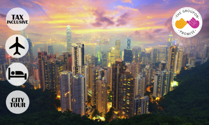 HK $479 nett for Hotel & CX Flight 0