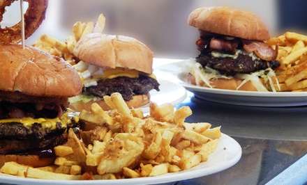 Burger Meal for Two or $20 Worth of Burgers, Fries, and Shakes at Frack Burger (Up to 75% Off)