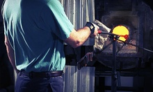 $189 for a Two-Hour Private Glass-Blowing Class for Two at Ridabock Glass Studio ($400 Value)
