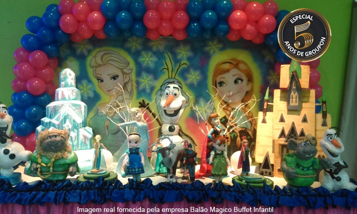 Balão Magico Buffet Infantil - Osasco: Balão Magico Buffet Infantil – 2 endereços: festa para 50, 80 ou 100 pessoas a partir de 12x sem juros de R$ 166,66