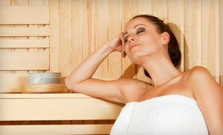 3, 5, or 10 Infrared-Sauna Sessions at AcuRelax (Up to 67% Off)