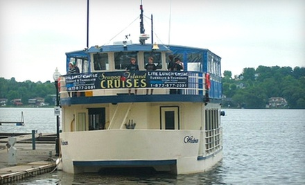 Sightseeing Cruise for One, Two, Four, or Family of Four from Scugog Island Cruises in Port Perry (Up to 56% Off)