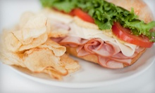 Five Sandwiches or Salads or $7 for $15 Worth of Caf Food at Blakely House Bakery and Cafe
