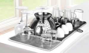 Prepara Drydock Antibacterial Fast-drying Dish Mat