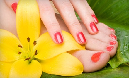Reflexology Package for One or Four People, or a Reflexology and Detox Package at Matrix Spa & Massage (Up to 62% Off)