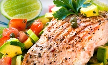 Seafood, Steaks, and Salads for Two or Four People at The Beach House Restaurant and Bar (Half Off)