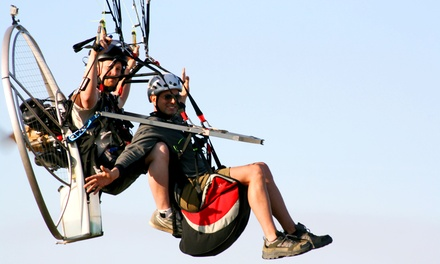 Powered-Paragliding Package with T-shirts and Photos for One or Two at Truman Lake Air Sports (Up to 52% Off)
