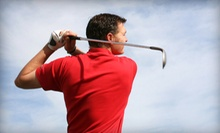 Indoor Golf for Two or Four Players or Two 60-Minute Lessons at Tee Time (Up to 53% Off)
