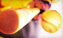 $20 for a 30-Minute Batting Cage Session for Up to Five People at Sport Factory Scuba ($40 Value)