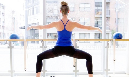 Four Barre Fitness Classes or One Month of Unlimited Classes at barre3 ( 51% Off)