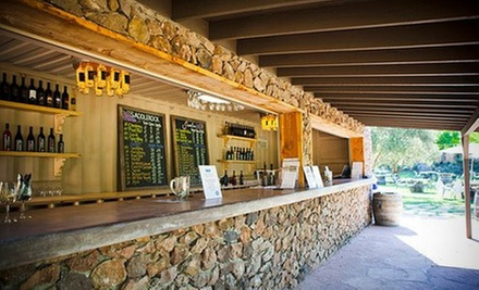 Tasting for Two with a Take-Home Bottle of Saddlerock or Semler Wine at Malibu & Vine Outdoor Wine Bar (Up to 52% Off)