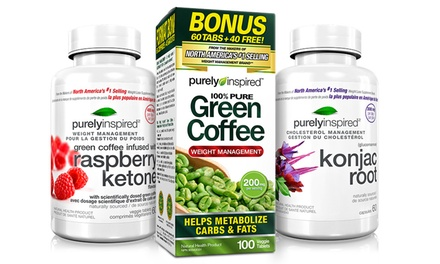 Purely Inspired Konjac Root, Raspberry Ketones, and Green Coffee