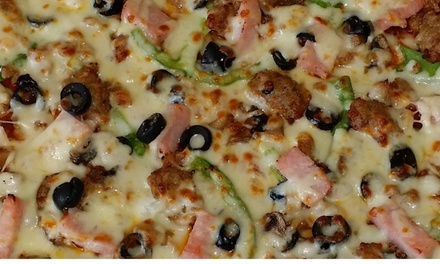 One Large Pizza at 3 Guys Pizza Pies (45% Off)