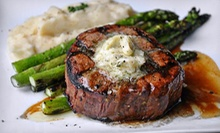 Southern-Style Steak-House Cuisine at Manhattan (Up to 54% Off). Three Options Available.