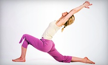 $30 for 30 Yoga and Fitness Classes at In Motion Yoga ($250 Value)