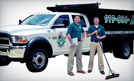 Junk Removal or General Labor Services from Junk Patrol (51% Off). Three Options Available.