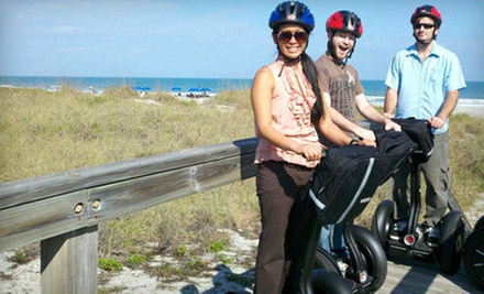 Port Canaveral Tour for One, Two, or Four from Space Coast Segway Tours, LLC (Up to 66% Off)