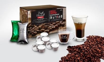 100, 200 ou 300 cápsulas de café compatíveis com máquinas Nespresso desde 22,99€