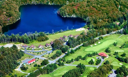 Groupon Deal: 2-, 3-, 4-, or 7-Night Stay for Up to Six at Cottages at Diamond in the Ruff in Muskoka, ON. Combine Multiple Nights.