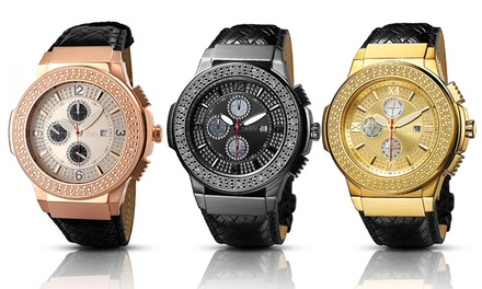 JBW Saxon Men's Diamond Watches