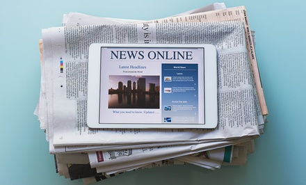 One-Year Sunday and Wednesday or Friday–Sunday Newspaper Subscription to